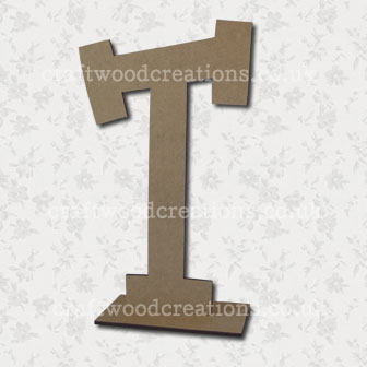 Free Standing Mdf Letters T