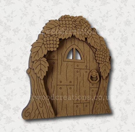 """Mdf Fairy Door """"Hedgerow"""""""