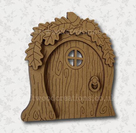 Mdf Fairy Door Woodland