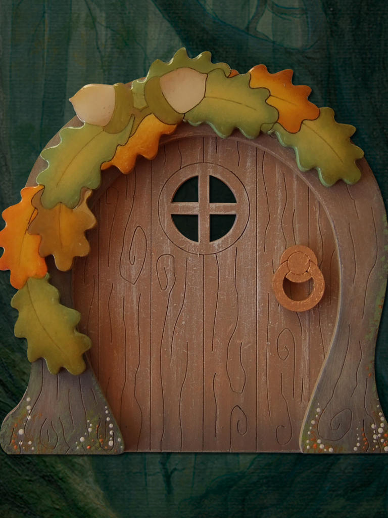 New ultimate fairy doors button it craftwood creations for White fairy door