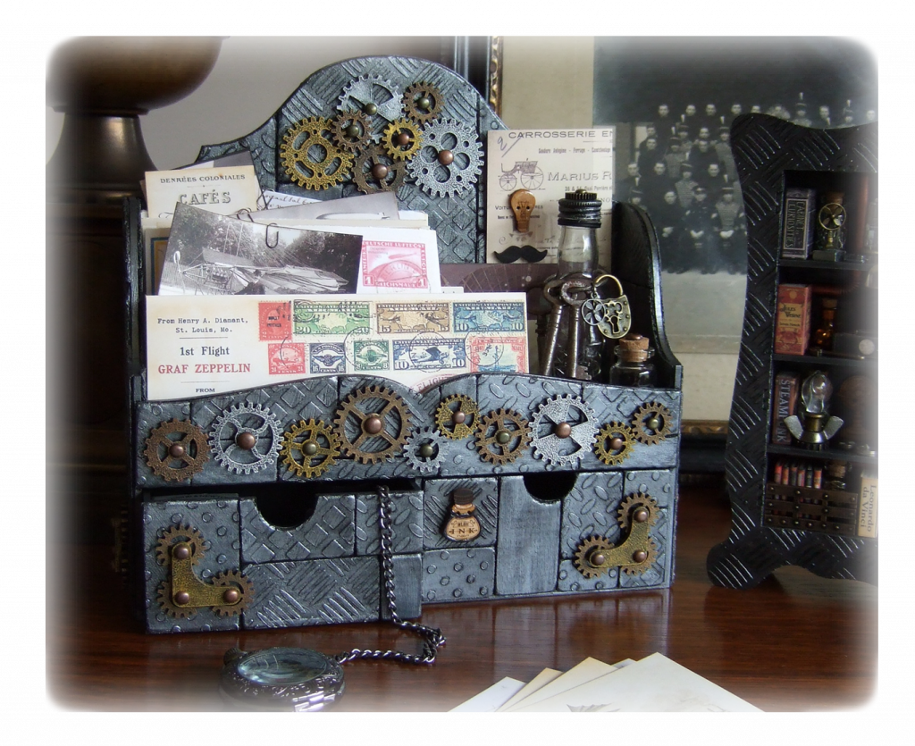 steampunk-desk-organiser