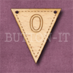 NB-10 Number Bunting 28mm x 30mm