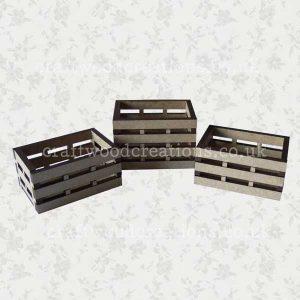 3D Mdf Miniature Crates