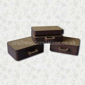 Mdf Miniature Suitcases