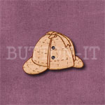 Deerstalker Hat Button