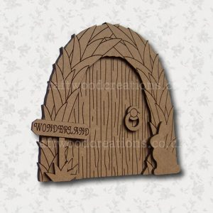 "MDF Fairy Door ""Wonderland"""