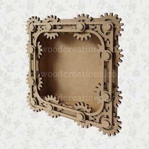 Steampunk Shadow Box Frame