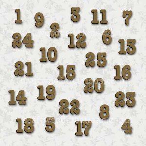 Advent Calendar Numbers