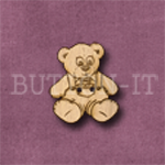 002 Teddy Bear 20mm x 25mm