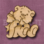 012 Teddy Bear 31mm x 30mm