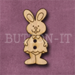 013 Girl Rabbit 14mm x 30mm