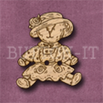 014 Teddy Bear 25mm x 29mm