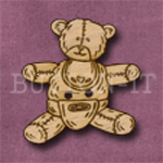 016 Teddy Bear 30mm x 30mm