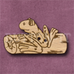 019 Frog on a Log 40mm x 23mm