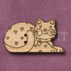 024 Cat 43mm x 25mm