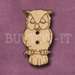 029 Owl 17mm x 30mm