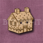 039 Gingerbread House 26mm x 25mm