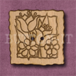 063 Square Flowers 30mm x 30mm