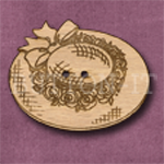 073 Hat with Roses 38mm x 30mm