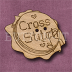 079 Cross Stitch 36mm x 30mm