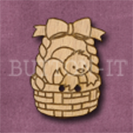 094 Chick in a Basket 23mm x 30mm