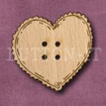 101 Heart 32mm x 29mm