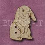 1028 Lop Eared Rabbit 24mm x 31mm