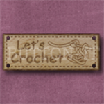 1042 Let's Crochet 42mm x 16mm