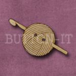 1043 Crochet Hook & Yarn 18mm x 35mm