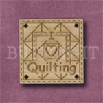 1048 I Love Quilting 25mm x 25mm