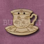 1057 Tea Cup & Saucer 30mm x 24mm