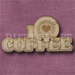1067 I Love Coffee 47mm x 24mm