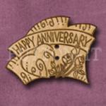 158 Happy Anniversary 41mm x 31mm