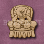 159 Armchair Teddy Bear 27mm x 30mm
