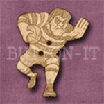 250 Rugby Player 28mm x 35mm