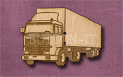 254-p Lorry 42mm x 30mm