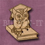 329 Wise Owl 29mm x 33mm