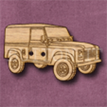 378 Land Rover 38mm x 22mm
