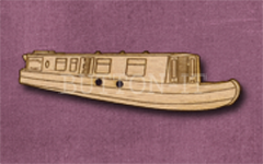 382 Narrowboat 54mm x 14mm