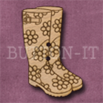 411 Floral Wellies 25mm x 35mm