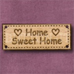 470 Home Sweet Home 42mm x 16mm