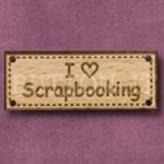 472 I Love Scrapbooking 42mm x 16mm