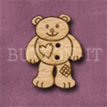 483 Teddy Bear 22mm x 28mm