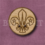 527 Boy Scout Badge 25mm x 25mm