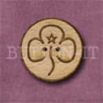 528 Girl Guide Badge 25mm x 25mm x 25mm