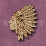 549 Indian Chief 25mm x 32mm