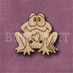 654 Patch Frog 25mm x 25mm