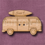 675 VW Campervan with Surfboard 34mm x 25mm