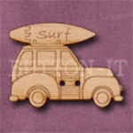 676 Car with Surfboard 34mm x 25mm
