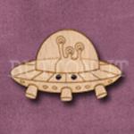 699 Alien Spaceship 34mm x 23mm